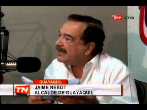 Alcalde Nebot reitera que no habrá subsidio en costo del pasaje
