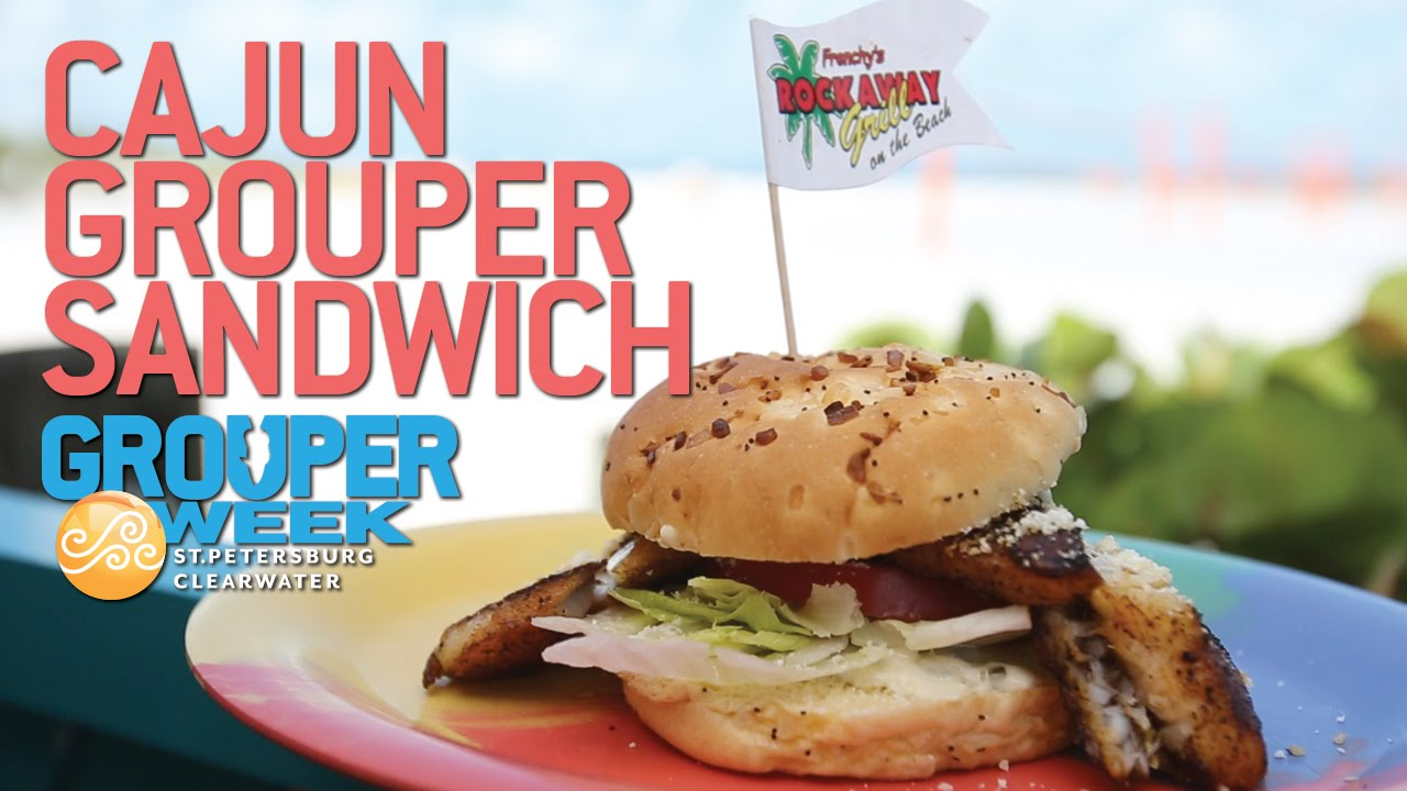 Make This Frenchy S Famous Cajun Grouper Sandwich Youtube
