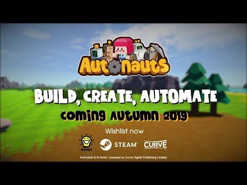 Autonauts — песочница, полная очаровательных роботов, которых можно программировать