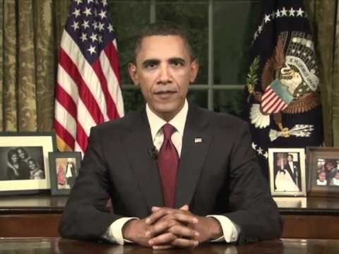 Obama Announces End Of Operation Iraqi Freedom