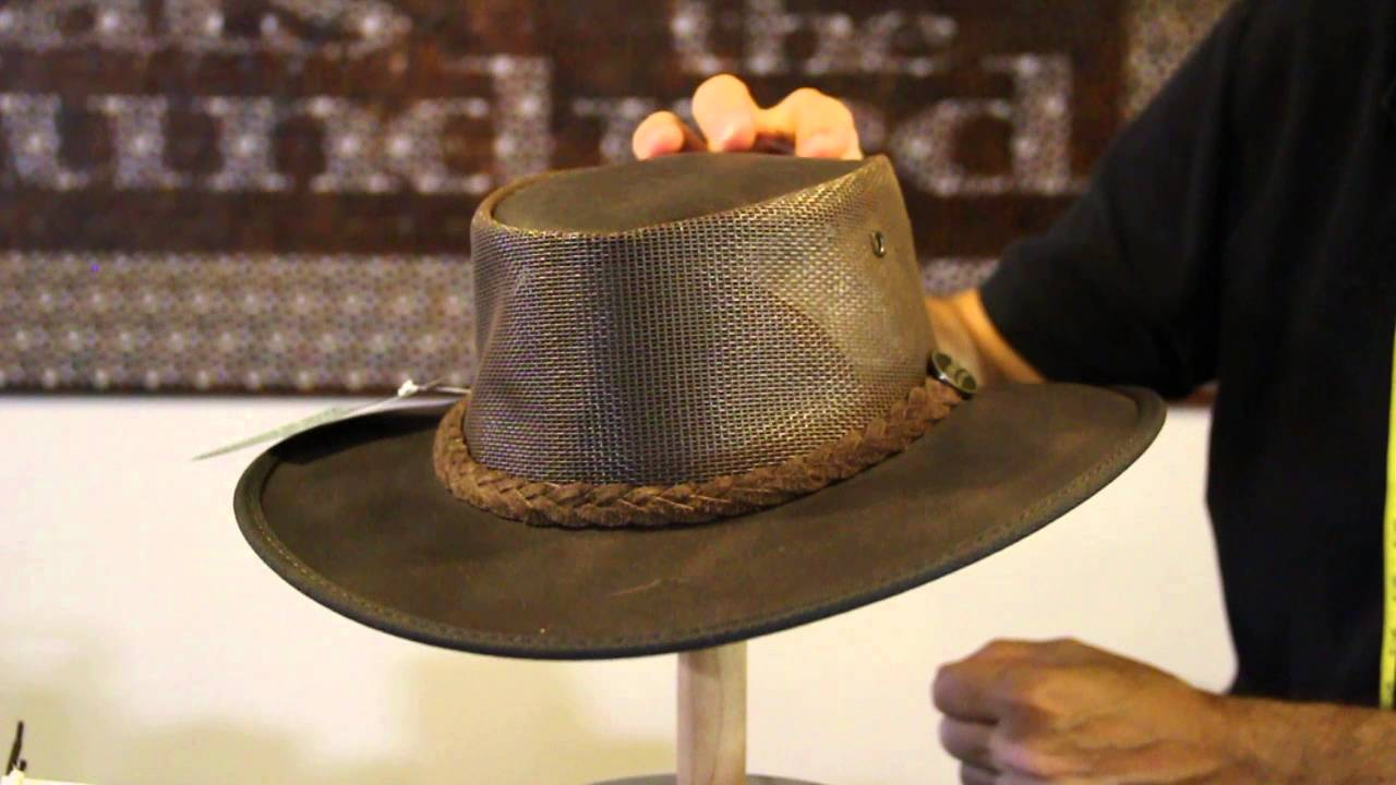 Barmah Hats 1038 Kangaroo Oiled Cooler Hat Review- Hats By The Hundred -  YouTube 69e9bf8b1d4