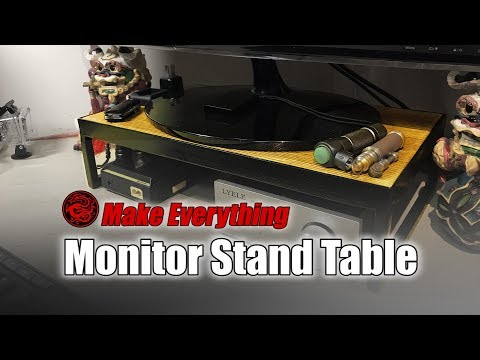 Monitor Stand Table