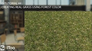 Orman renk kullanarak gerçekçi bir çim oluşturma G-Öğretici #4 :