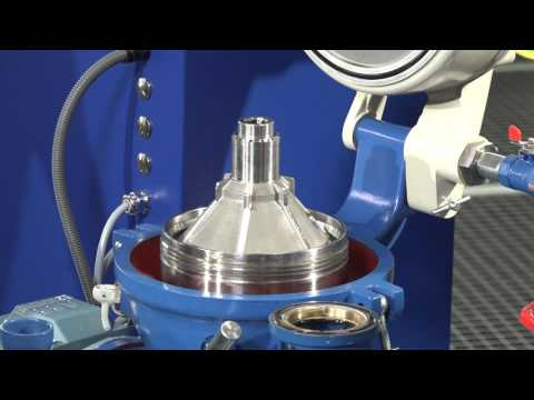 Alfa Laval OCM 103, Manual Cleaning Of A Separator