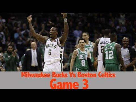 Boston Celtics Vs Milwaukee Bucks Game 3 (NBA PLAYOFFS 2018 RD1) REACTION FULL HIGHLIGHT