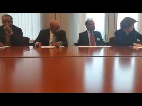 Ethiopia's political crises and the oppositions road map displayed in Brussels