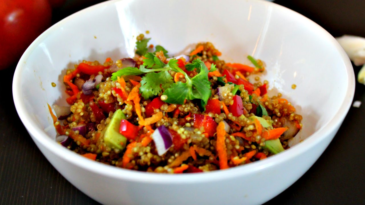 The Best Quinoa Salad Recipe Youtube