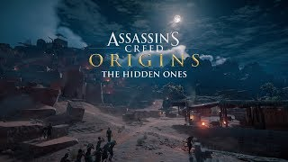 Assassin's Creed Origins The Hidden Ones DLC (PS4) - Epic Fail - Stuck In Mountain