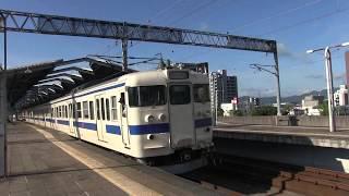 日豊本線行橋駅 朝の通勤時間帯