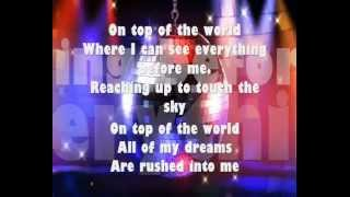 On Top Of The World - Barbie Princess Charm School (Lyrics+ backgrounds)