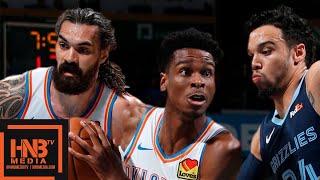 Oklahoma City Thunder vs Memphis Grizzlies - Full Game Highlights | October 16, 2019 NBA Preseason