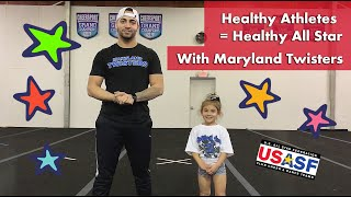 Healthy Athletes = Healthy All Star with Maryland Twisters