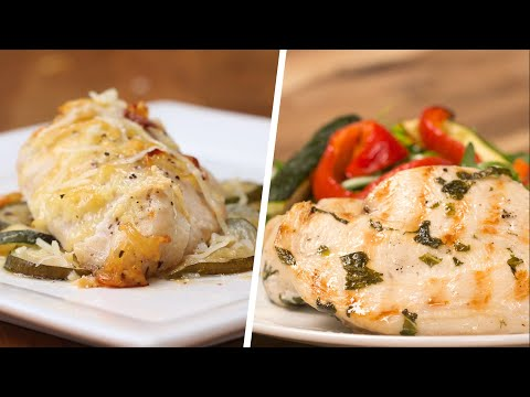 4 Low-Carb Chicken Dinners • Tasty