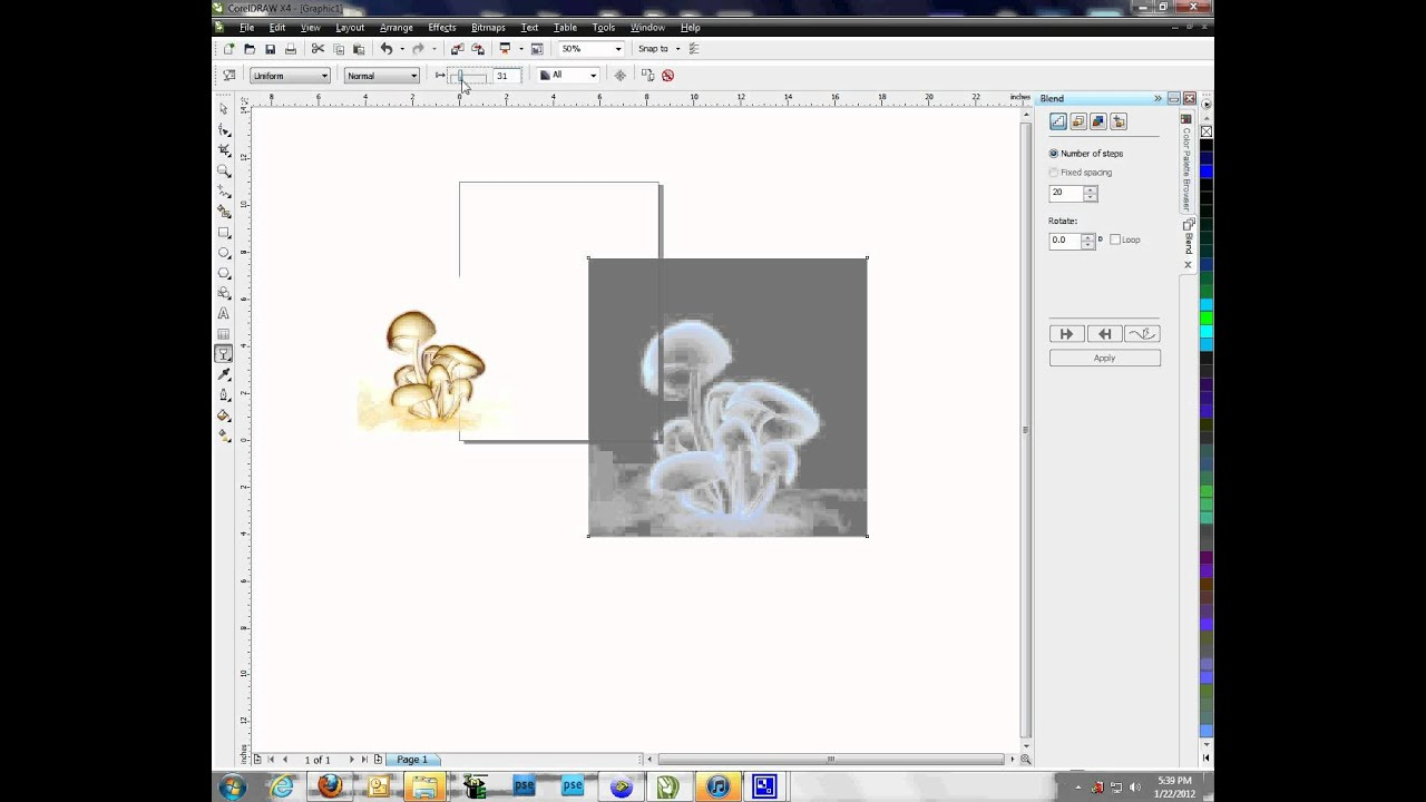 How to Use the Invert Tool in CorelDraw YouTube