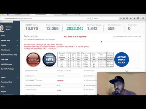 Ultimate RevShare Review URS SCAM? What to do next when you reach 6000$ Max withdrawal?