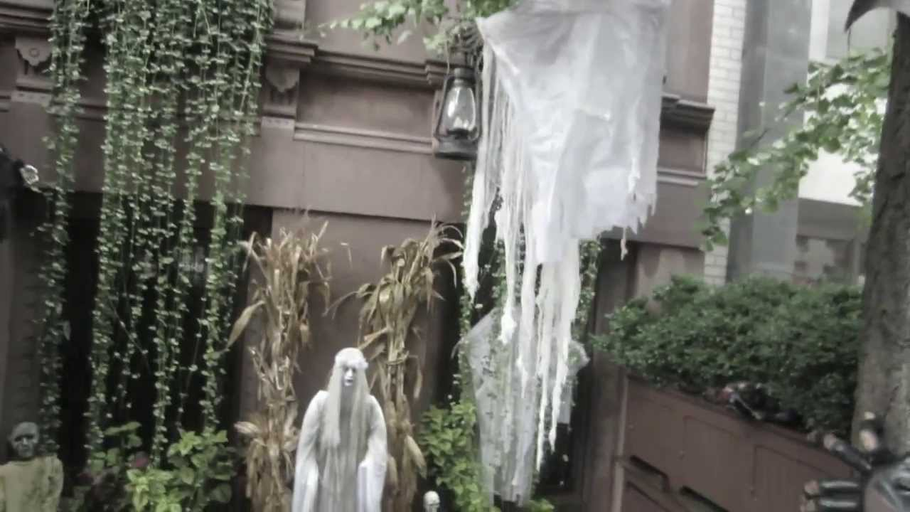 Haunted House In New York City Near Central Park 19 October 2012