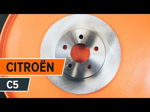 Wie CITROËN C5 Bremsscheiben hinten wechseln TUTORIAL   AUTODOC