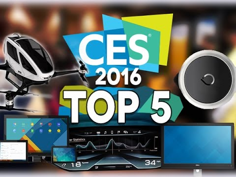Top 5 du CES 2016 - Test Mobile Mp3