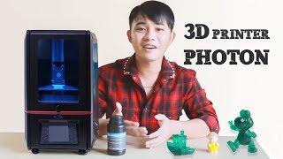 Đập hộp máy in Anycubic PHOTON 3D printer - Ngon Nhất Trong Dòng In 3D ANYCUBIC