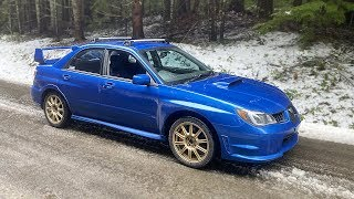 my-cheap-wrx-sti-gets-a-new-paint-job-and-goes-off-roading-in-the-snow