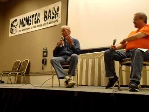 Arch Hall Jr. at MONSTER BASH 2014 with Joel Hodgson of MST3K