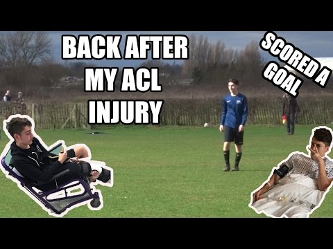 MY FIRST MATCH BACK AFTER MY DEVASTATING ACL INJURY | BACK WITH A BANG ! SUNDAY LEAGUE #1