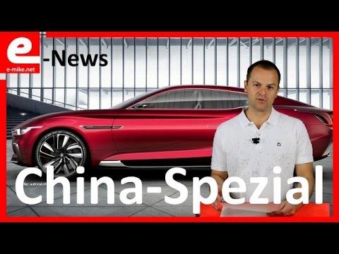 BYD, Nio, Lynk ... Elektroauto China Spezial | E-News | www.e-mike.net