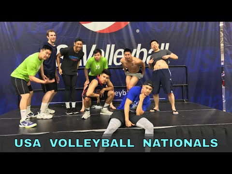 THE TALL ONES VLOG - USA Volleyball 2017 Open National Championships