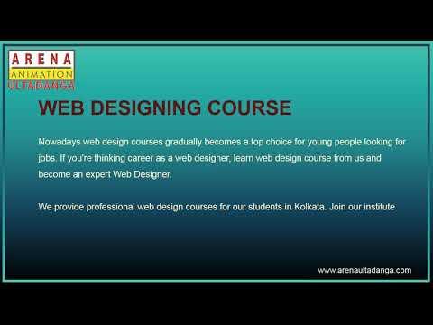 Best Web Designing Course In Kolkata Arena Ultadanga Youtube
