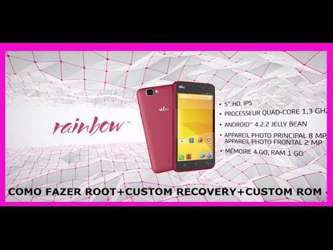 Wiko rainbow root custom rom jb youtube