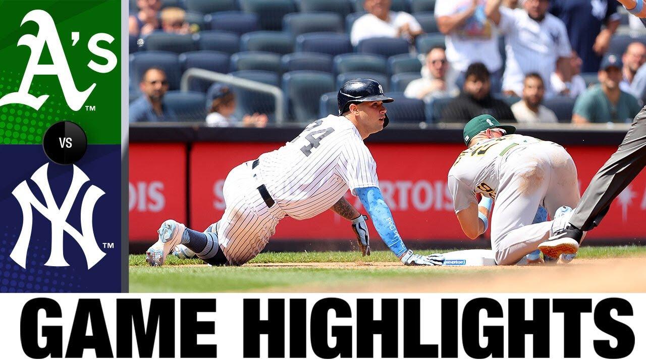 Download Athletics vs. Yankees Game Highlights (6/20/21) | MLB Highlights