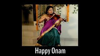 Onam Medley Instrumental - Violin &...