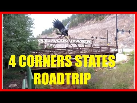 4 Corners States Travel Vlog