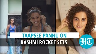 Watch: Taapsee Pannu spotted on sets of Rashmi Rocket, film to release in 2021