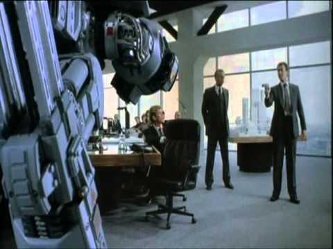 Robocop Mr Kinney VS Ed 209.