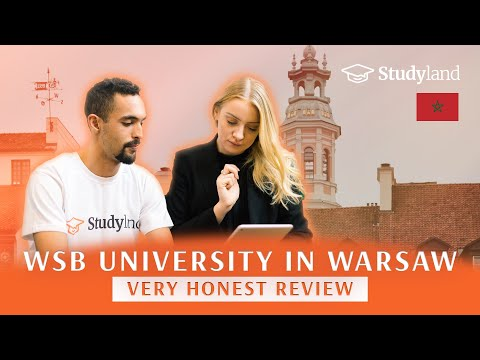 WSB University in Warsaw/Student from Morocco/Study in Poland for International Students/Admissions
