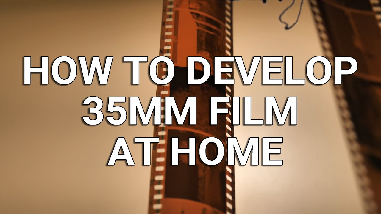 How to Develop 35mm Film at Home (FAST & EASY)