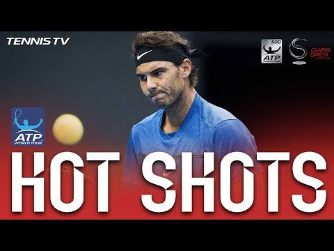 Hot Shot: Nadal Breaks Down Khachanov Defences In Beijing 2017