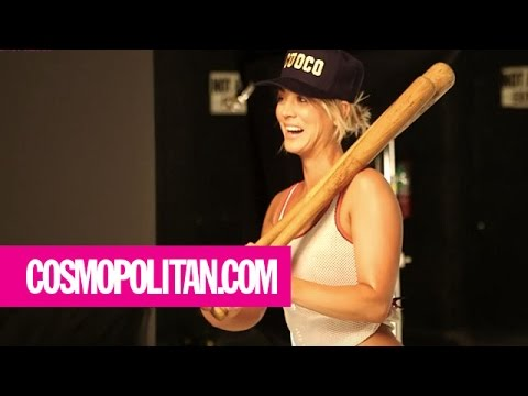 Kaley Cuoco | Behind the Scenes | Cosmopolitan