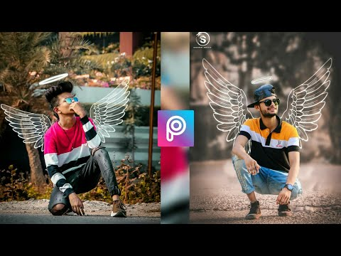 Instagram Viral White Wing Creative Editing Tuttriol In Picsart & Lightroom (Edit Lover)