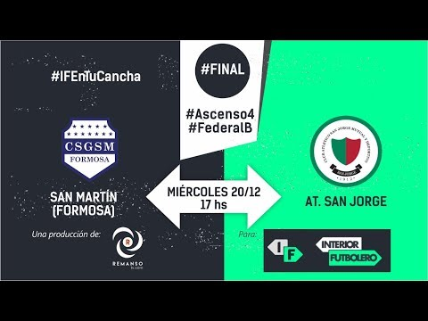 Vivo - #FederalB #Final #Ascenso4