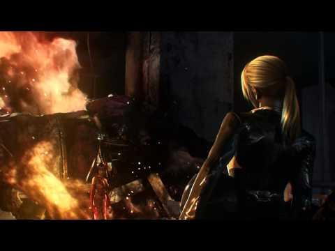 Tekken Blood Vengeance - Nina vs. Anna