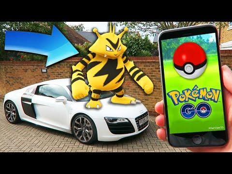 pokemom-go---rare-pokemon-capture!