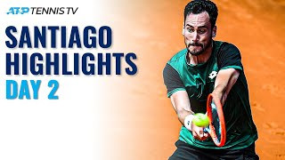 Coria and Mager Play a Marathon; Cerundolo and Rune Begin Campaigns | Santiago 2021 Day 2 Highlights