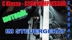 Motoröl im Steuergerät - C 200 kompressor