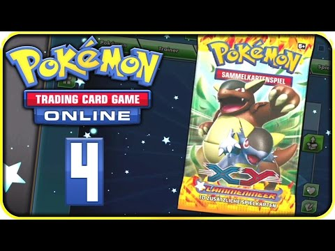 Let's Play POKÉMON TRADING CARD GAME ONLINE Part 4: Kampf gegen Otis & XY - Flammenmeer BOOSTERPACK