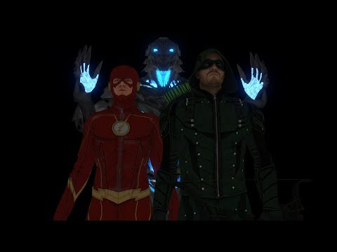 The Green Arrow and The Flash VS Savitar | fan animation