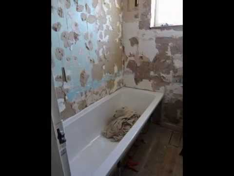 Our Bathroom Re-fit by B&Q Homefit team 30/06/2015 - 03/07/2015
