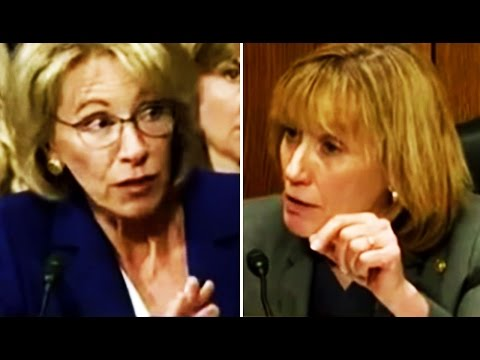 Sen. Maggie Hassan GRILLS Betsy DeVos After DeVos Proves Herself Ignorant of Federal Disability Law