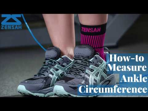 How to Measure Your Ankle Circumference